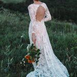 Свадебное платье из молочного кружева by Anna Skoblikova