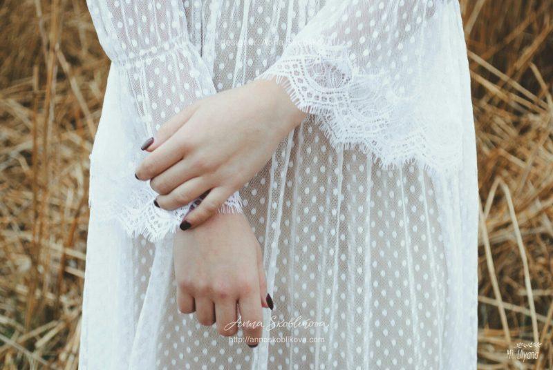 Милое и женственное платье от Анны Скобликовой