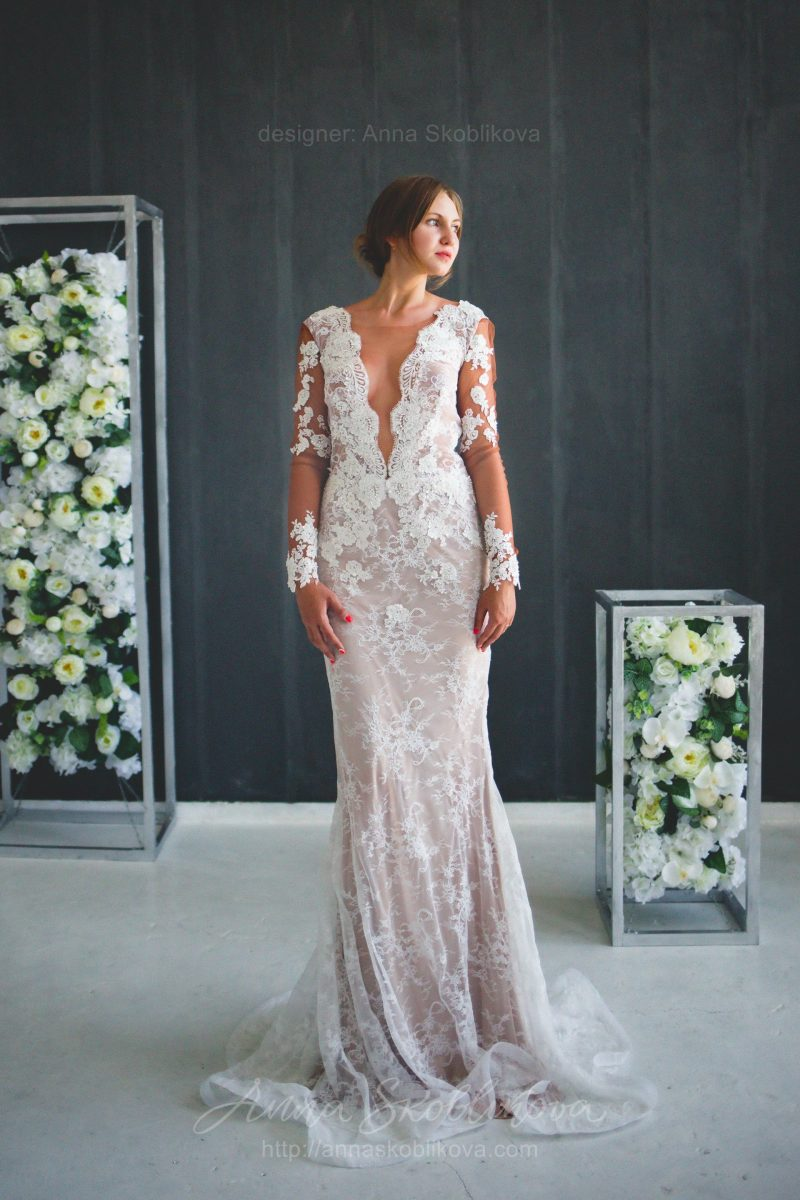 Свадебное платье ручной работы от Anna Skoblikova