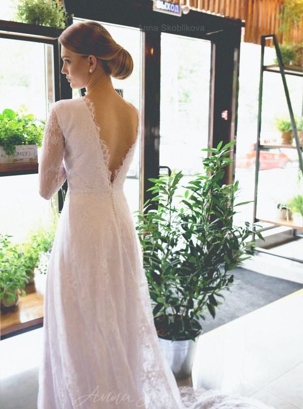 Chantilly Lace Wedding Dresses Evening Gowns Anna Skoblikova