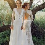 Ivory lace Wedding dress by Anna Skoblikova