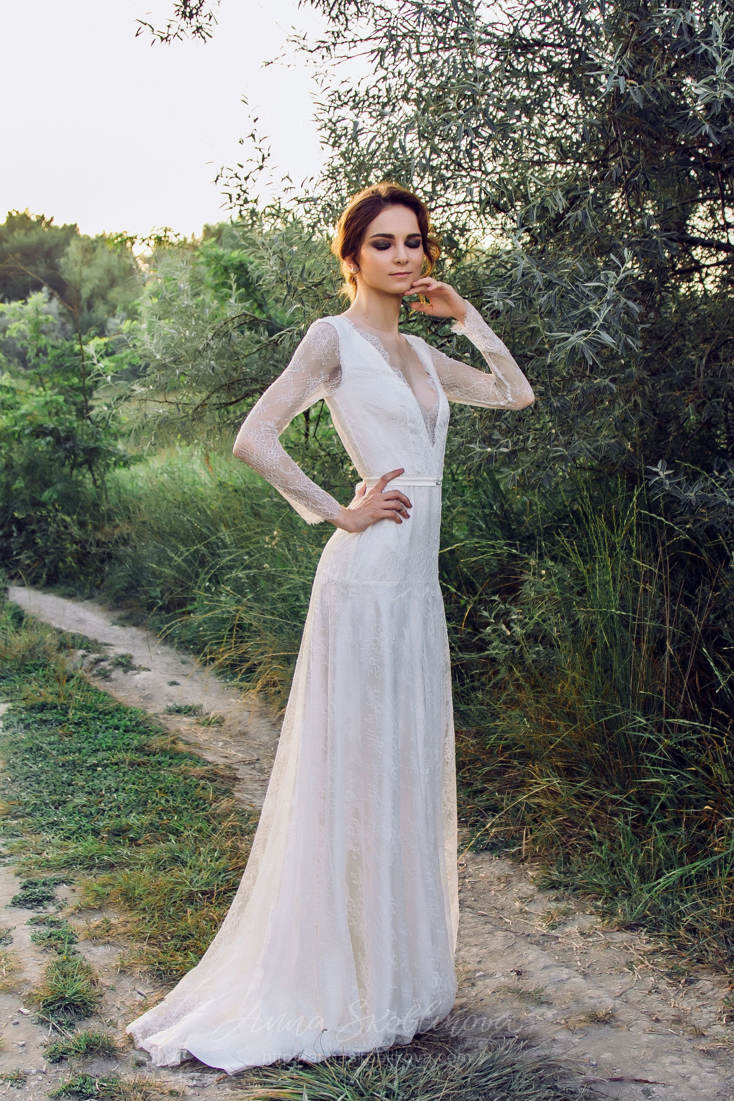 Ivory Bridal Gown | Anna Skoblikova - Wedding Dresses & Evening Gowns