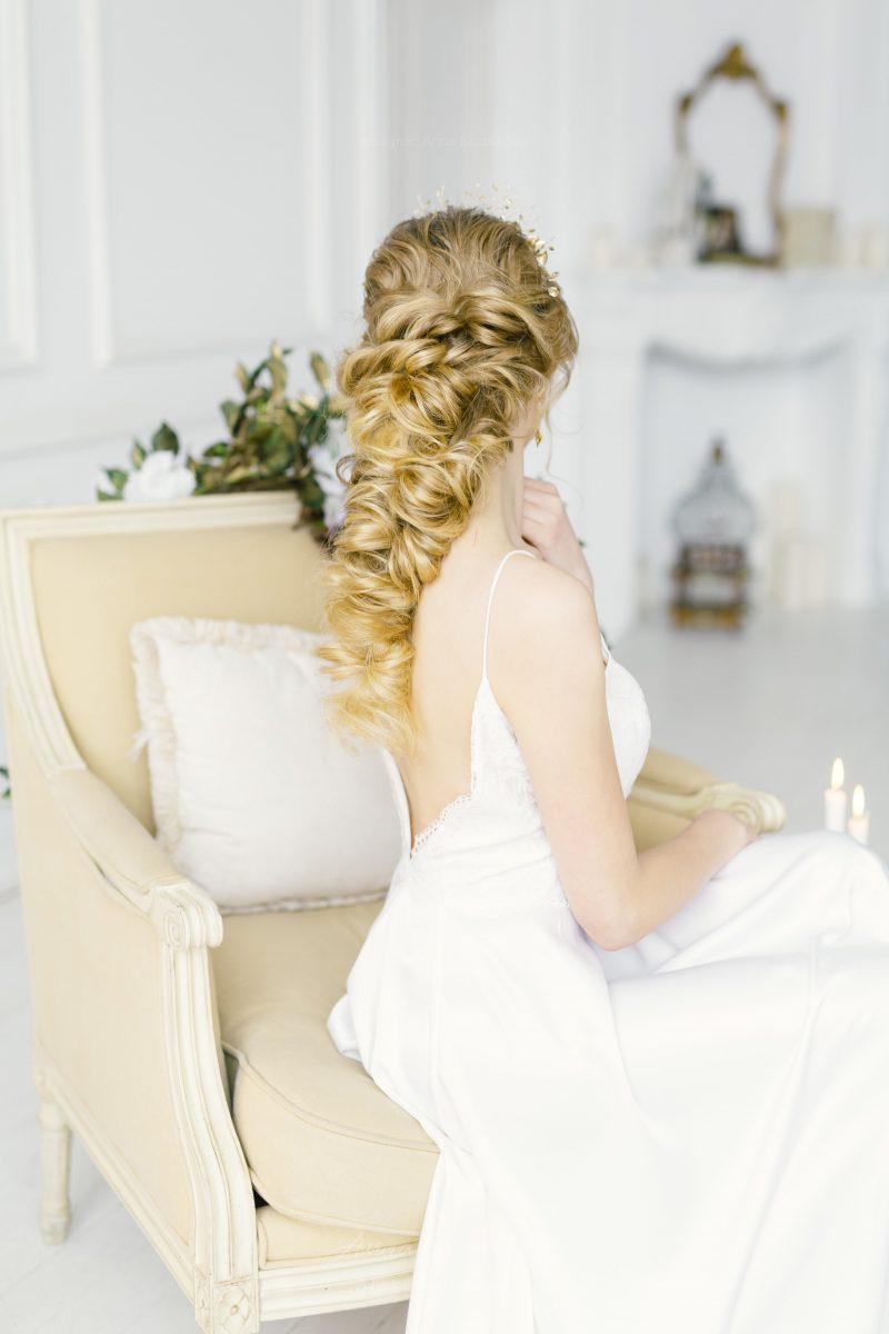 Нежное и женственное свадебное платье от Anna Skoblikova