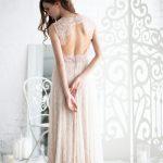 Trapeze Silhouette Wedding Dress by Anna Skoblikova