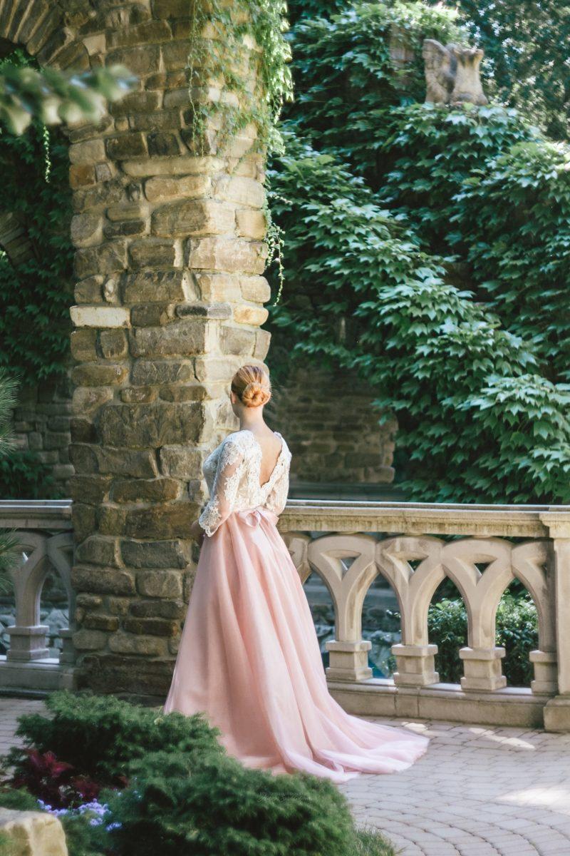 Платье силуэта принцесса от Anna Skoblikova
