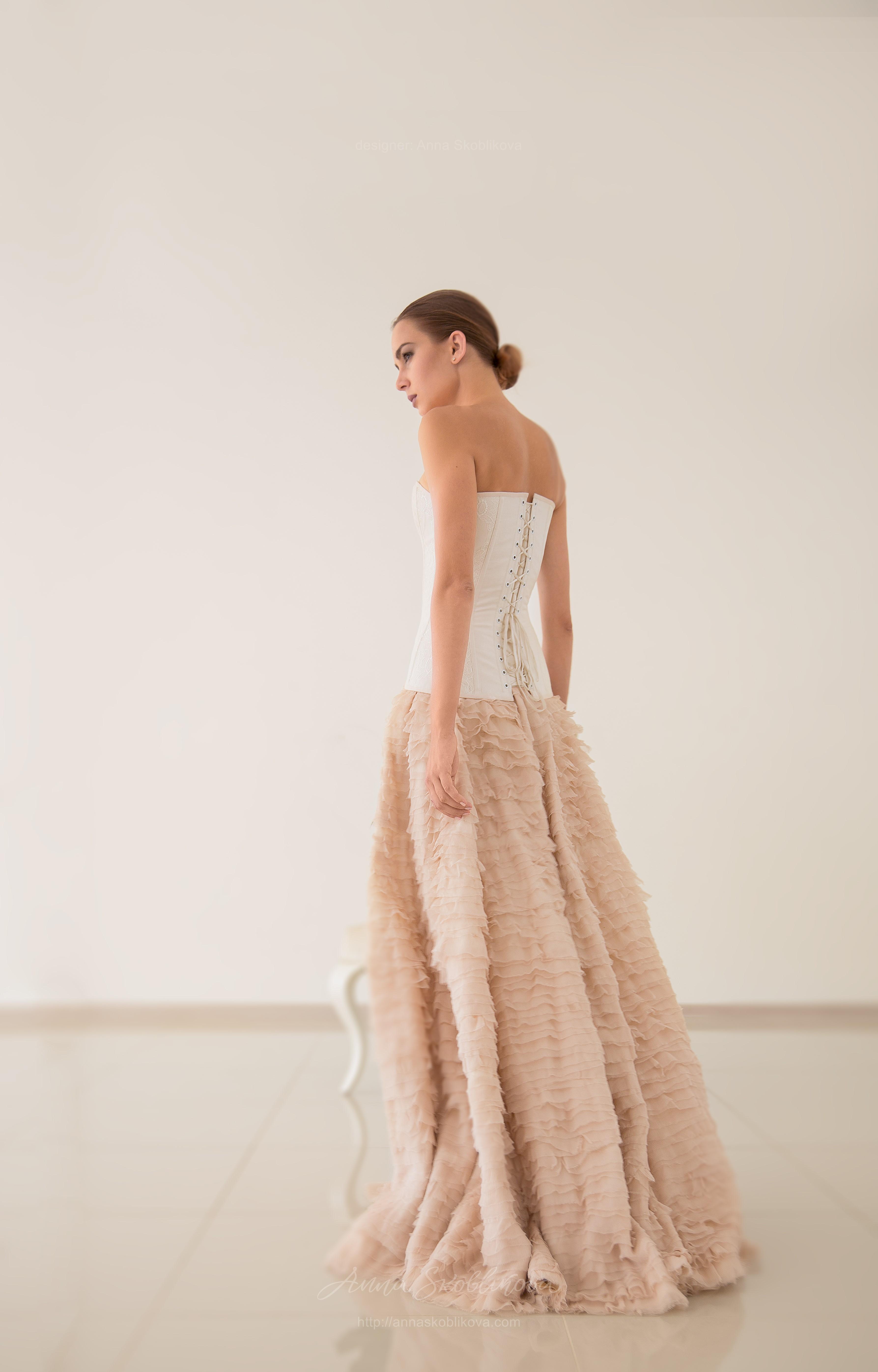 Luxurious natural silk Wedding skirt | Anna Skoblikova - Wedding ...