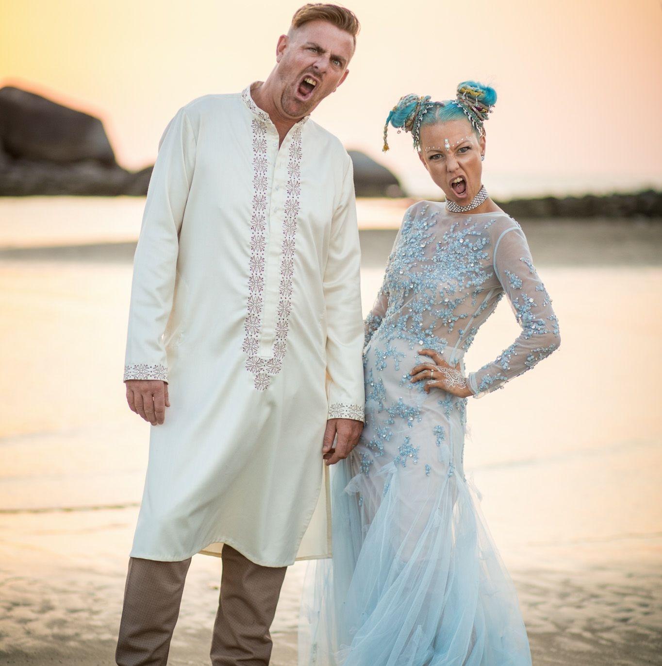 Light Blue Wedding dress   Anna Skoblikova - Wedding Dresses ...