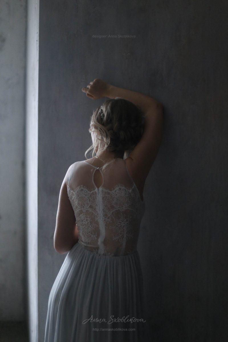 Нежное вечернее и свадебное платье от Anna Skoblikova