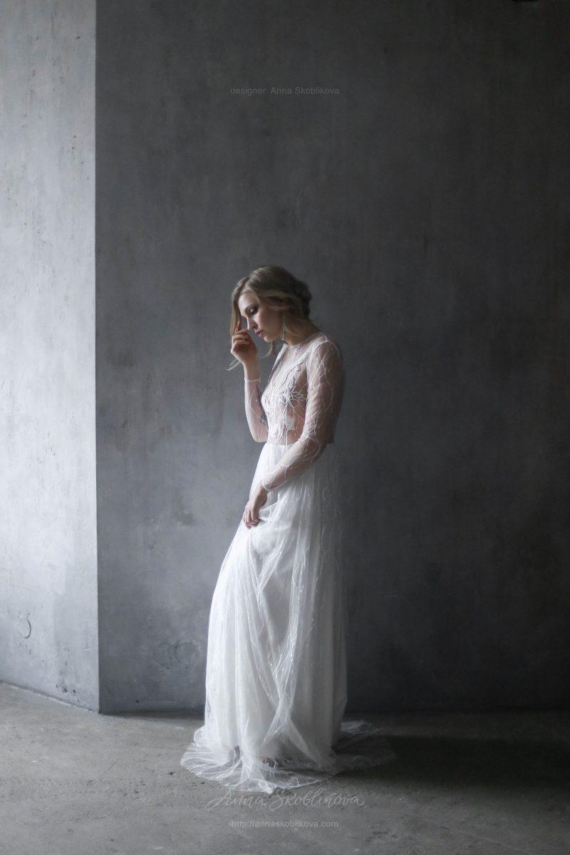 Свадебное и вечернее платье ручной работы от Anna Skoblikova