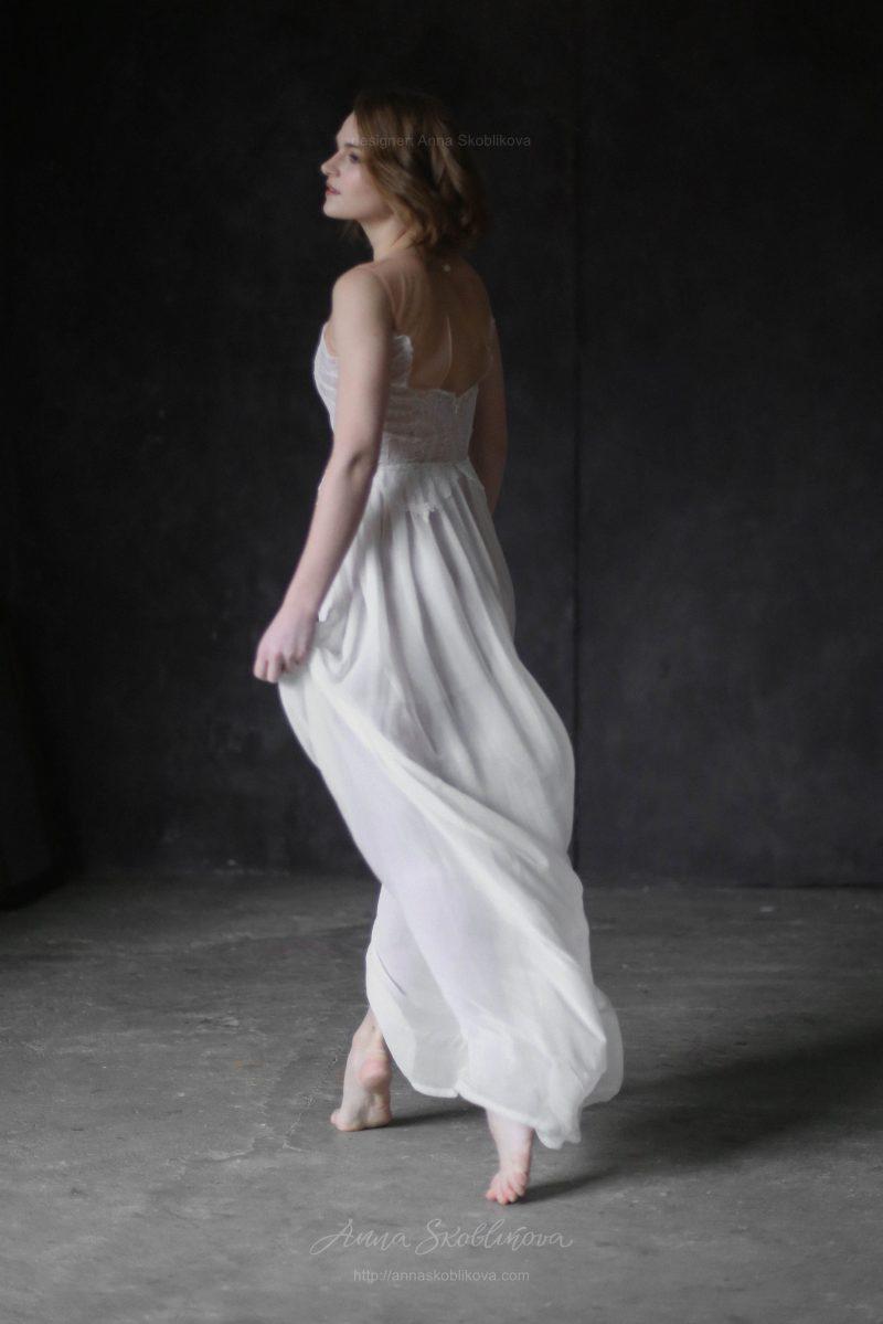 Легкое и воздушное вечернее и свадебное платье от Anna Skoblikova