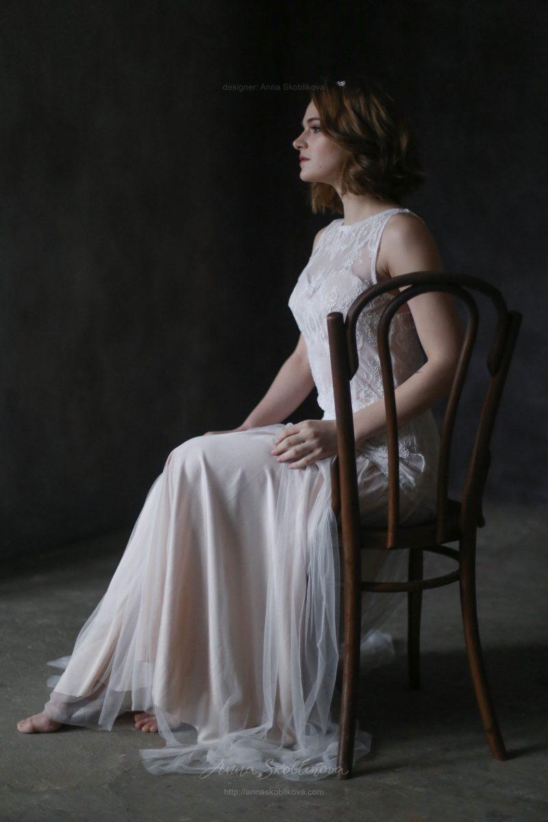 Нежное свадебное платье от Anna Skoblikova