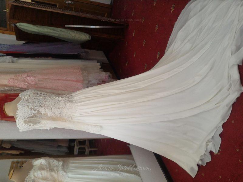 Свадебное платье с корсетом от Anna Skoblikova