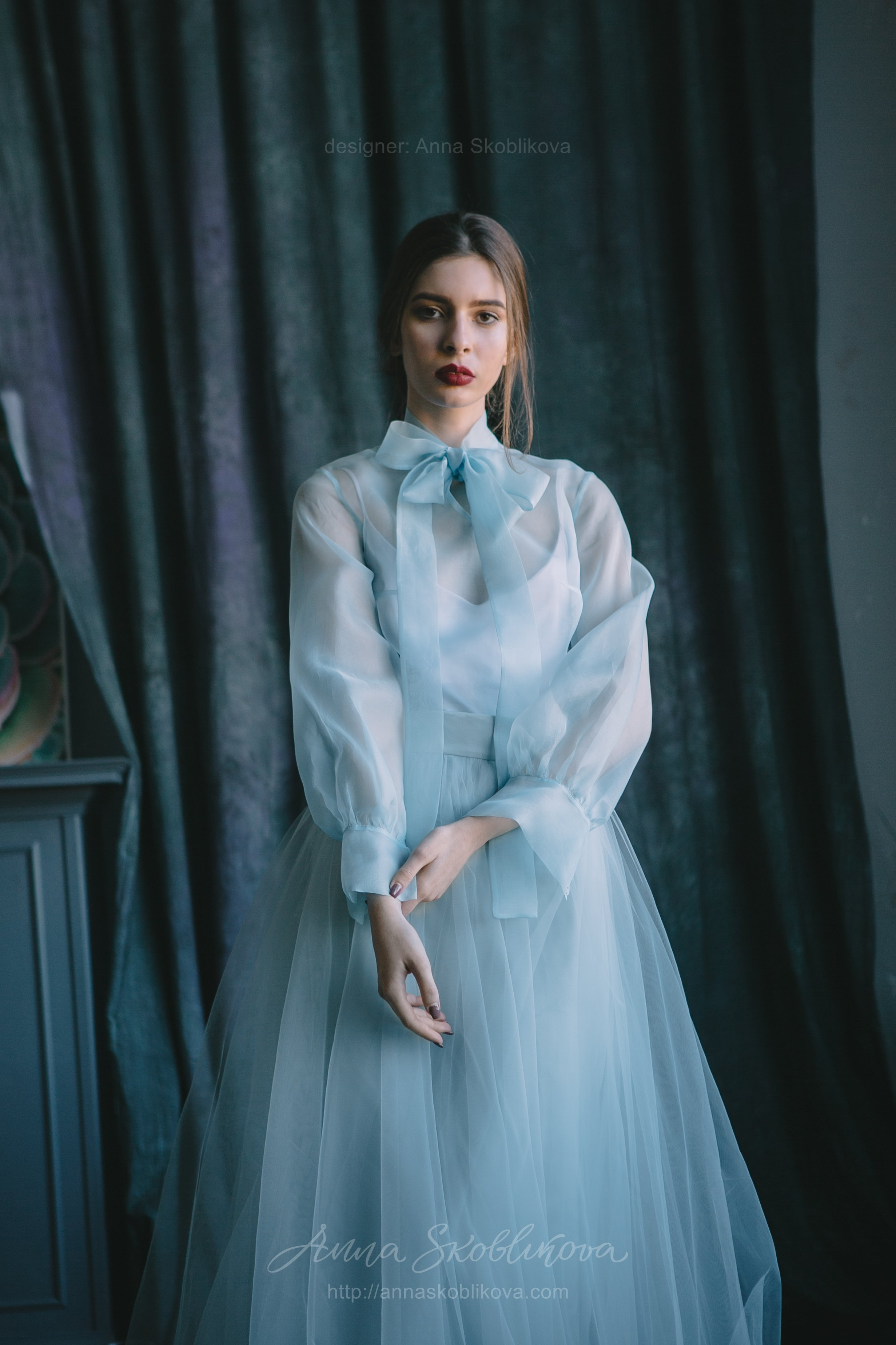 Tender airy Wedding set of aqua colour | Anna Skoblikova - Wedding ...