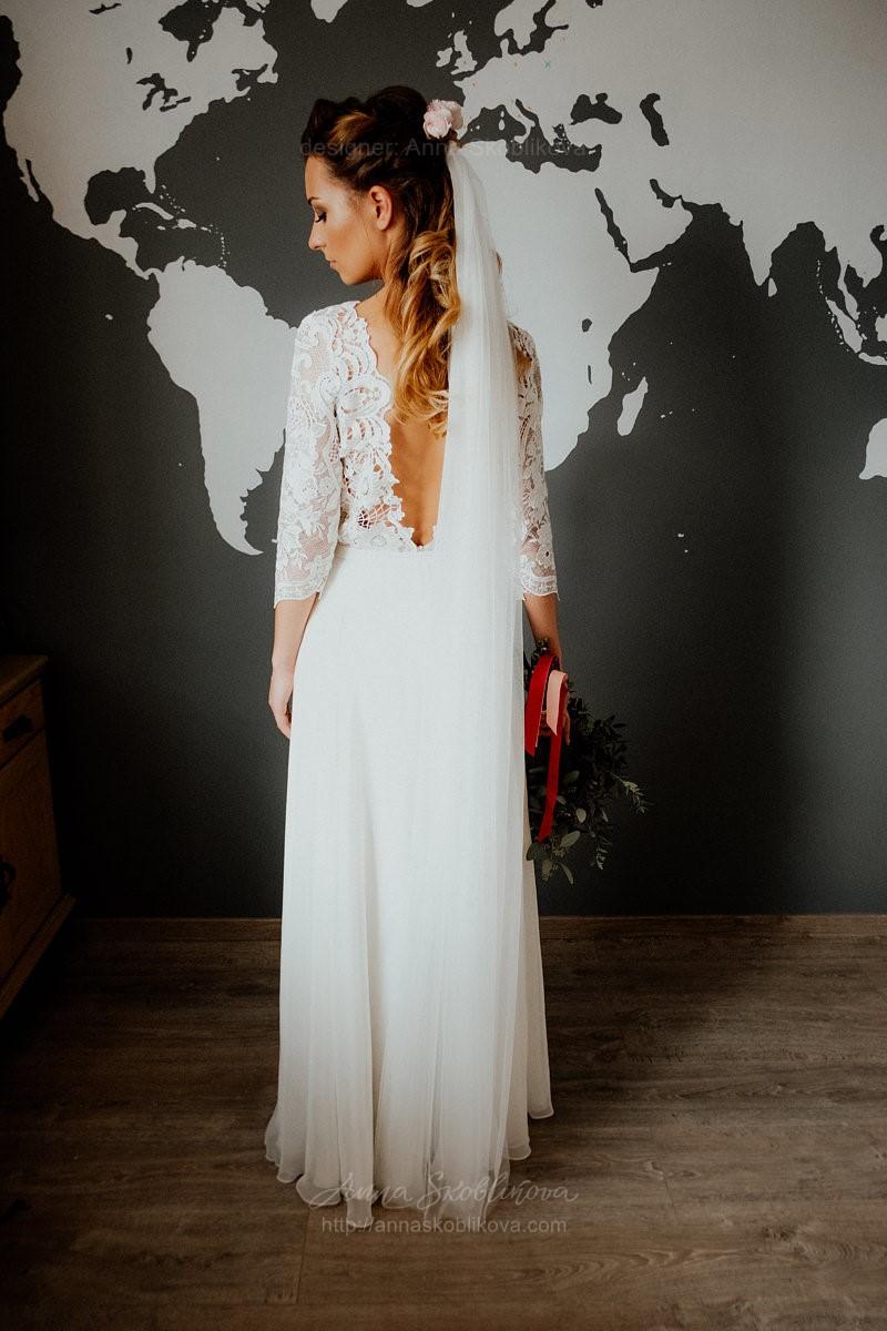 Transformer wedding dress with detachable skirt | Anna Skoblikova ...