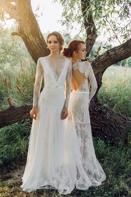 Mermaid Silhouette Wedding Dress | Anna Skoblikova - Wedding Dresses ...
