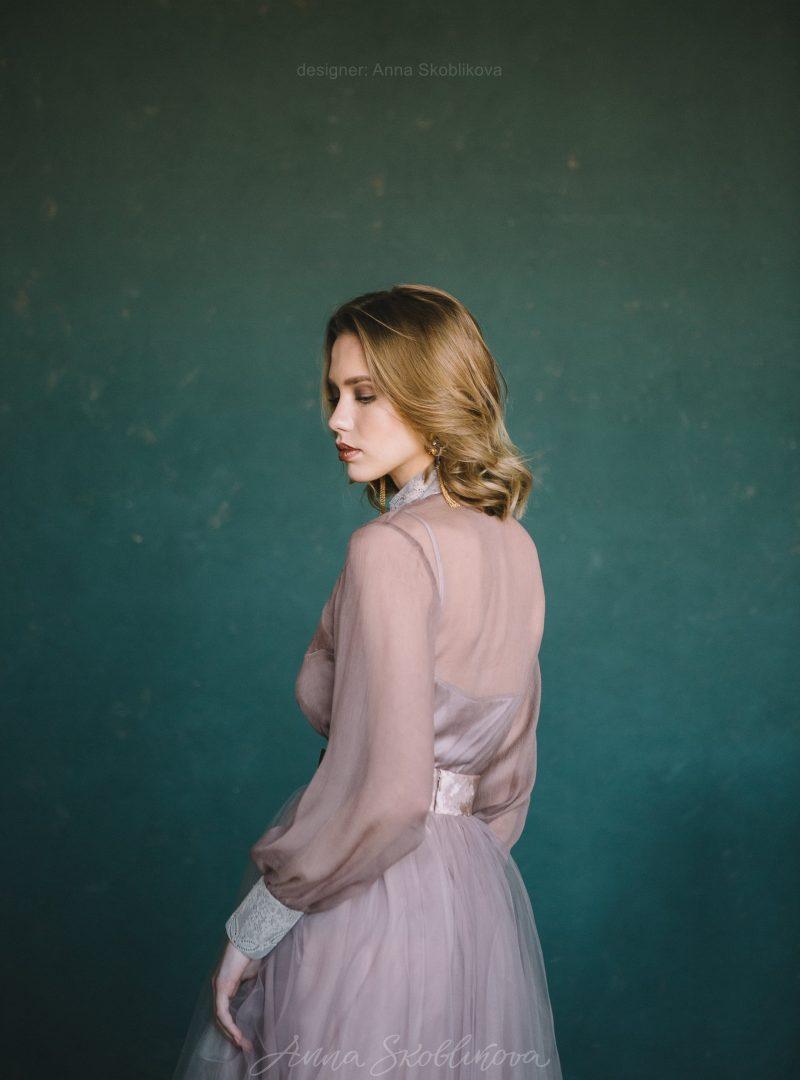 Свадебный и вечерний комплект блуза и юбка от Anna Skoblikova