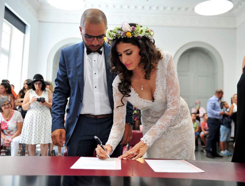 Свадебное платье цвета айвори от Anna Skoblikova