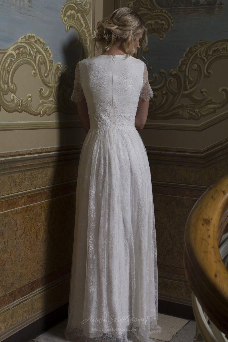 Bella - Свадебное платье из двух кружев отличается скромностью и шармом - Anna Skoblikova