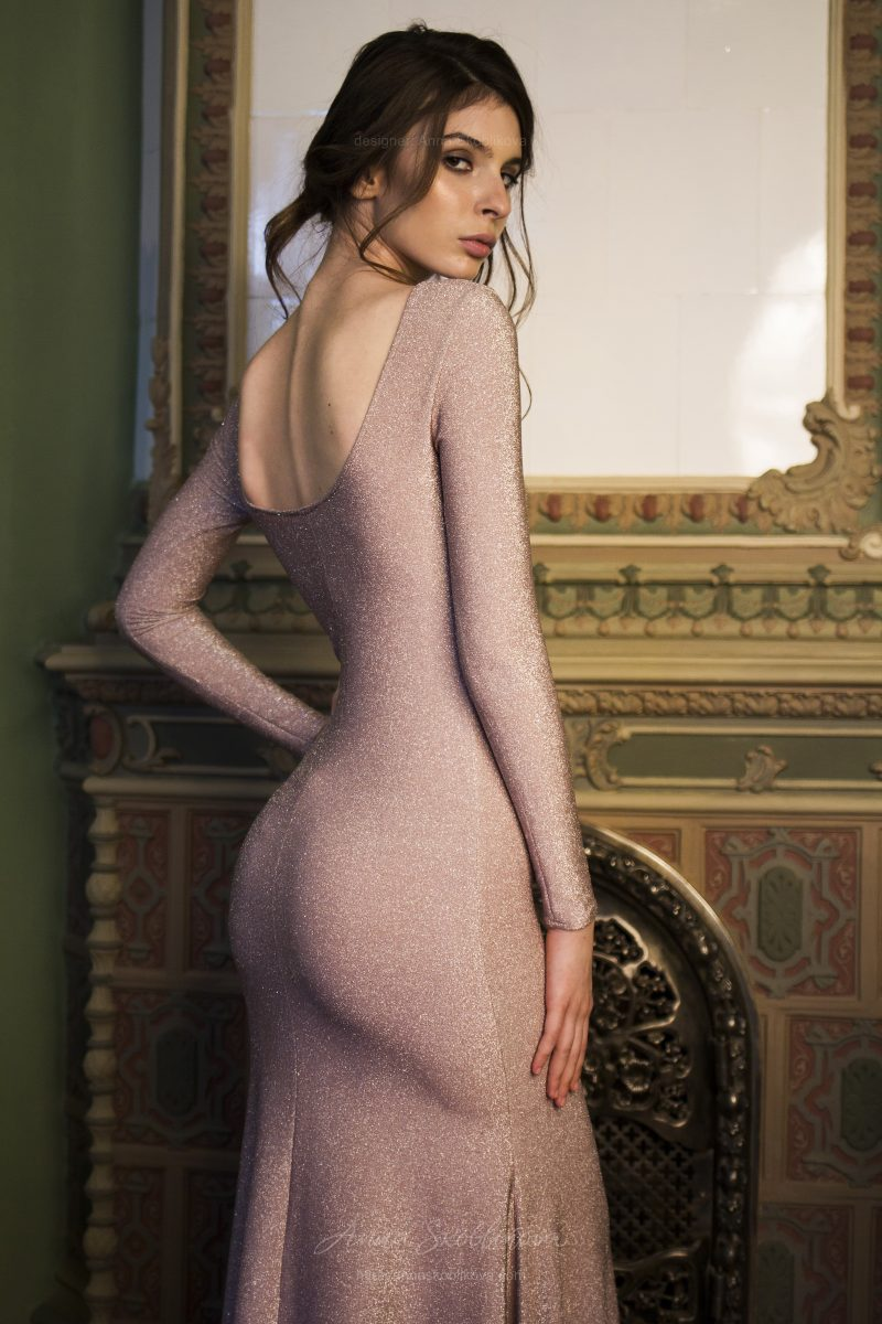 Тина - Силуэтное вечернее платье подчеркивает изгибы и привлекает мерцанием - Anna Skoblikova