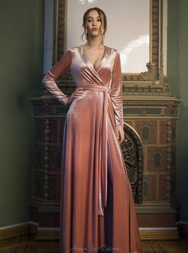 soft velvet Wedding Dresses & Evening Gowns -   Anna Skoblikova