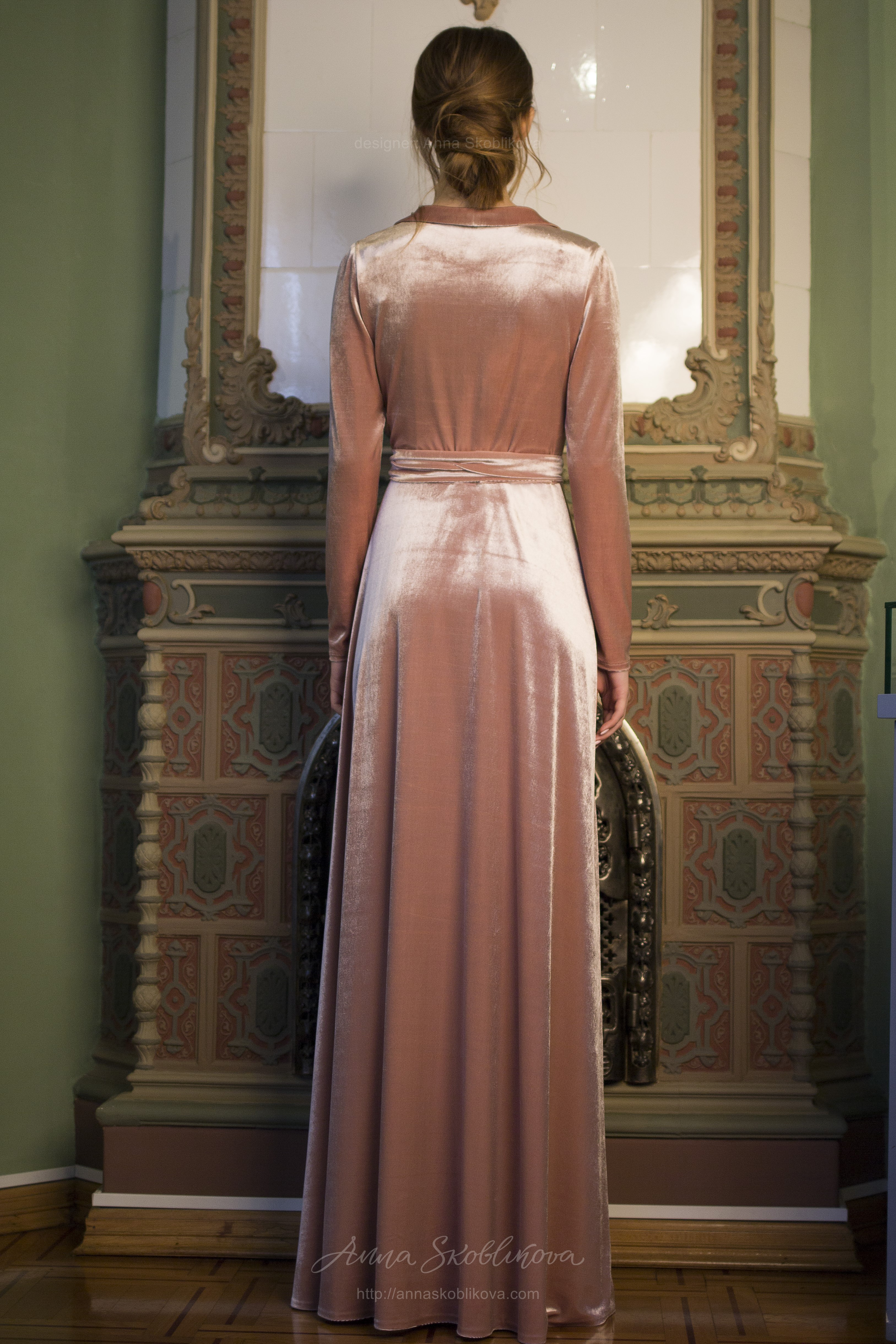 Colored Wedding Dress Paola An Enticing Mix Of Elegance