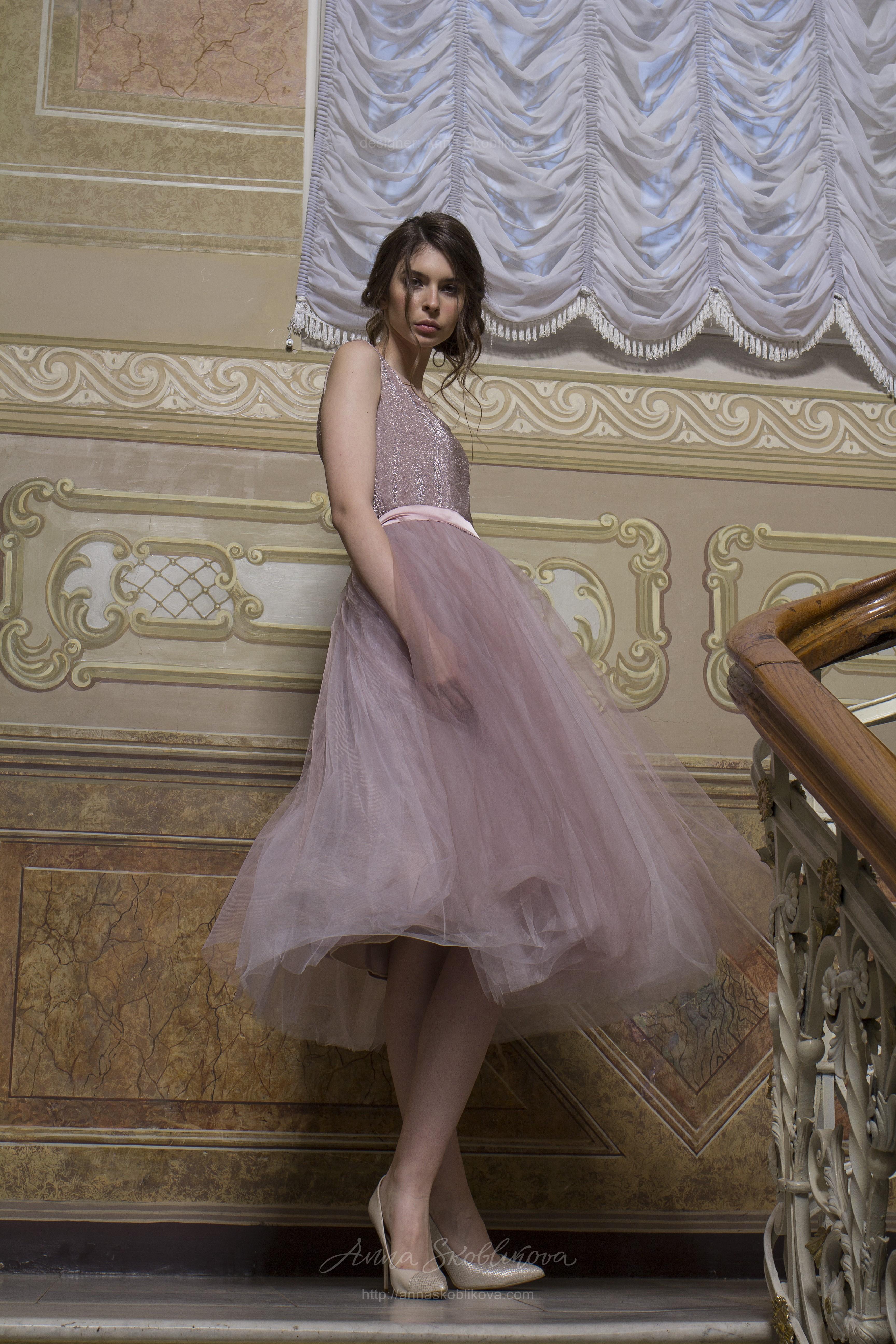 4abb47ce590 Elza - Зефирный образ платья с ноткой элегантности   Anna Skoblikova