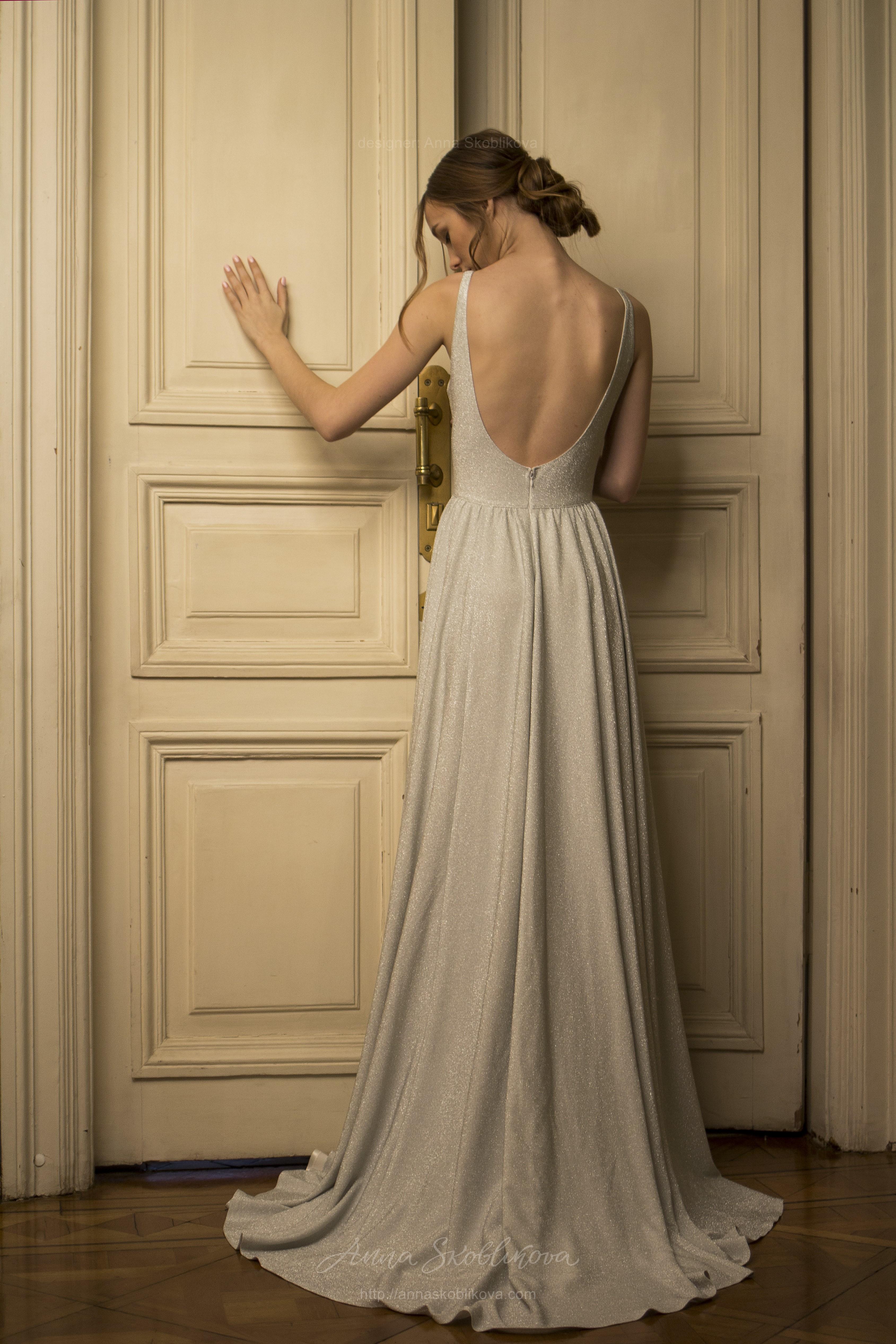 Simple Sexy Wedding Dress