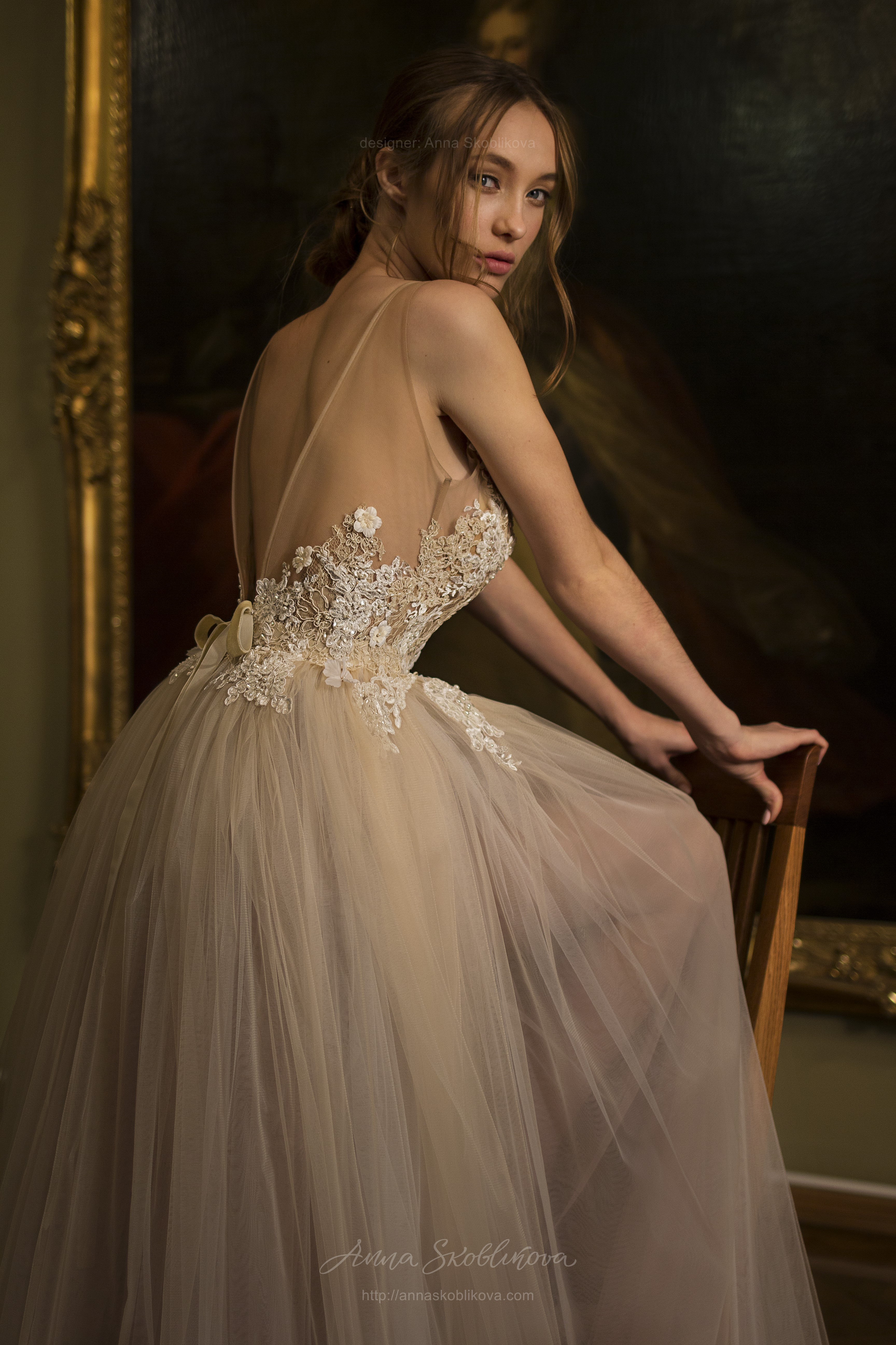 Daniella - The airy unique wedding dress featuring our signature ...