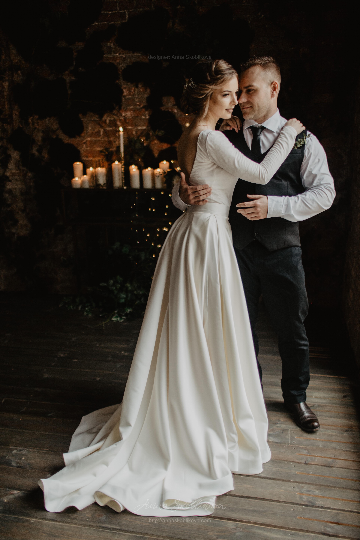 Two Piece Wedding Dress Ball Gown Wedding Dress Anna