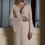 Photo 1: Delicate cotton lace in wedding dress \ Anna Skoblikova