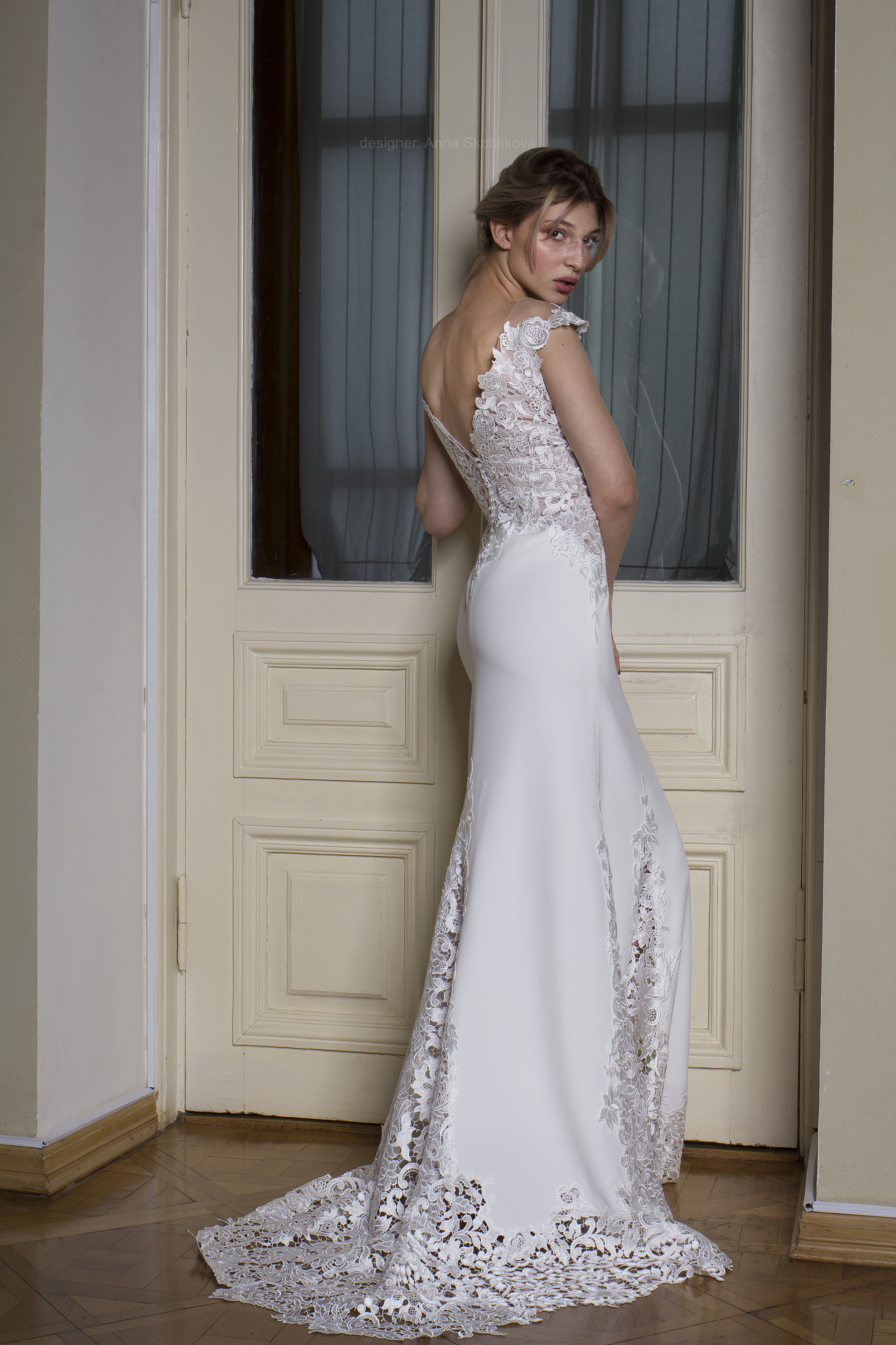 Photo 4 Wedding Dress From Italian Dense Crepe Anna Skoblikova