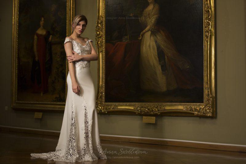 Фото 4: Свадебное платье для шикарной свадебной церемонии