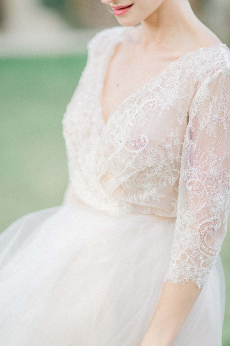 Summer wedding dress - Anna Skoblikova