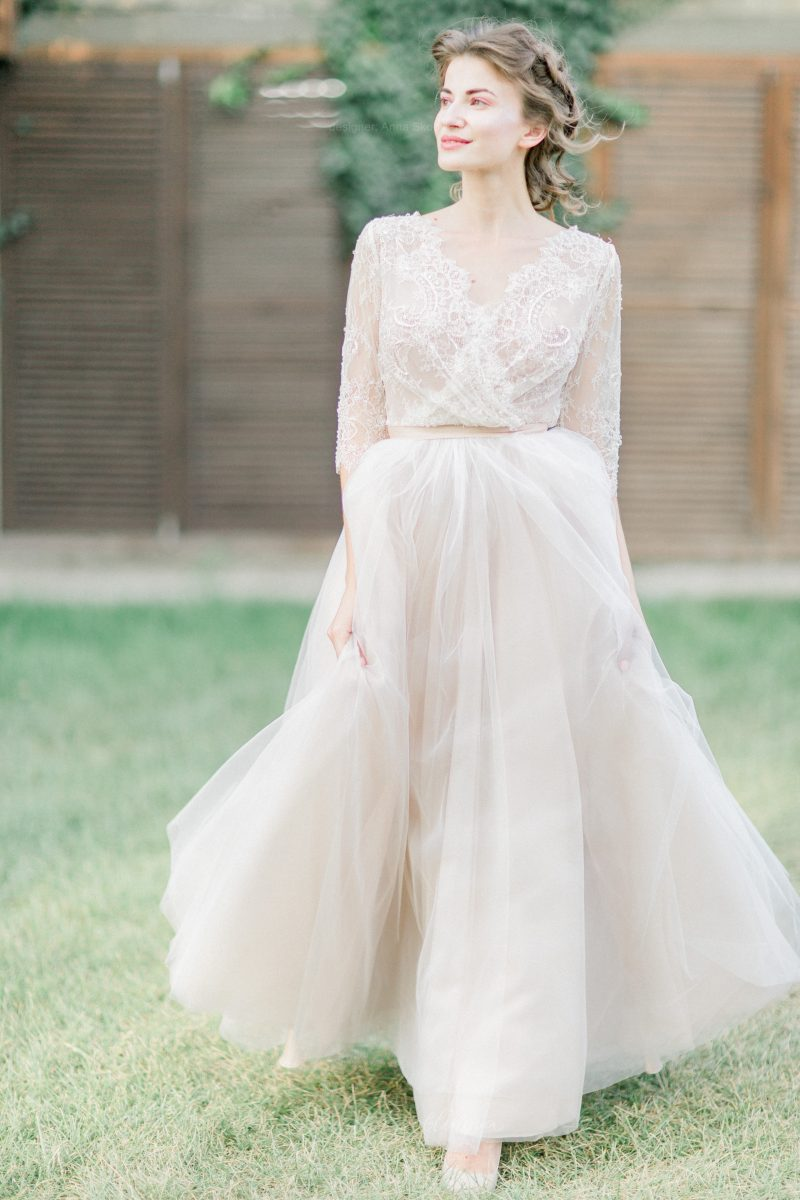 Simple wedding dress - Anna Skoblikova