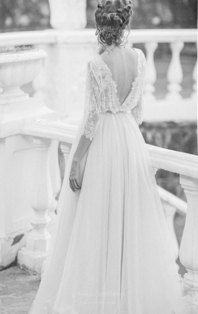 A line wedding dress - Anna Skoblikova