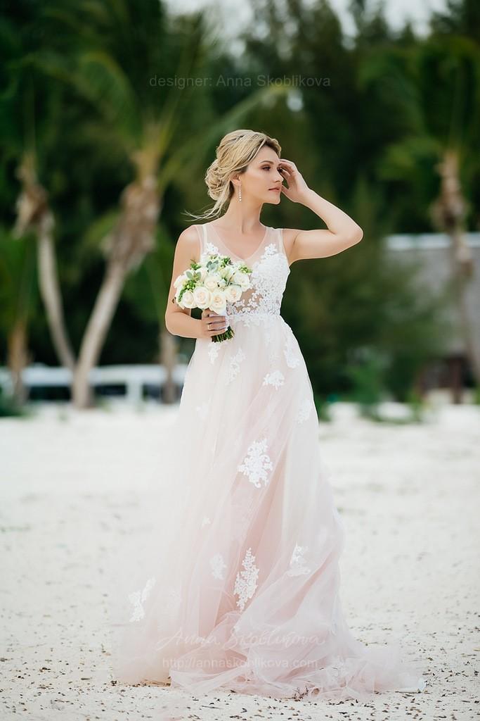 Пляжное Свадебное Платье - Melissa - Anna Skoblikova