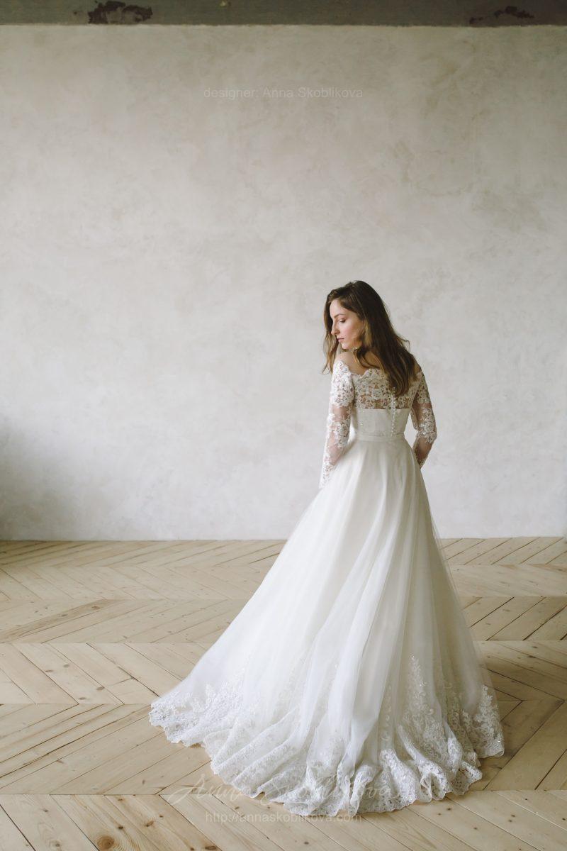Свадебное Платье с двойной съёмной юбкой - Anna Skoblikova