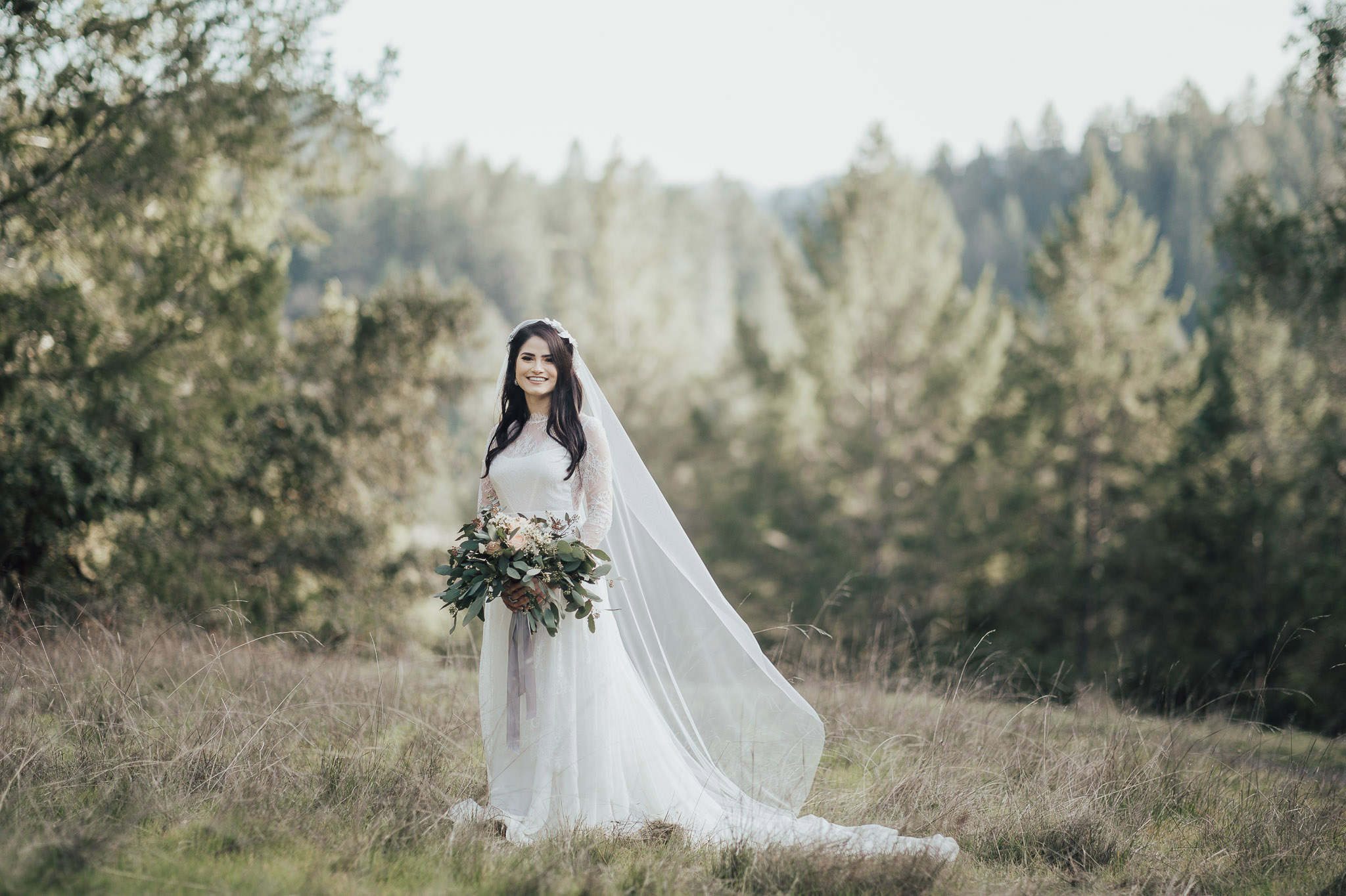 Classic long sleeves wedding dress - Anna Skoblikova