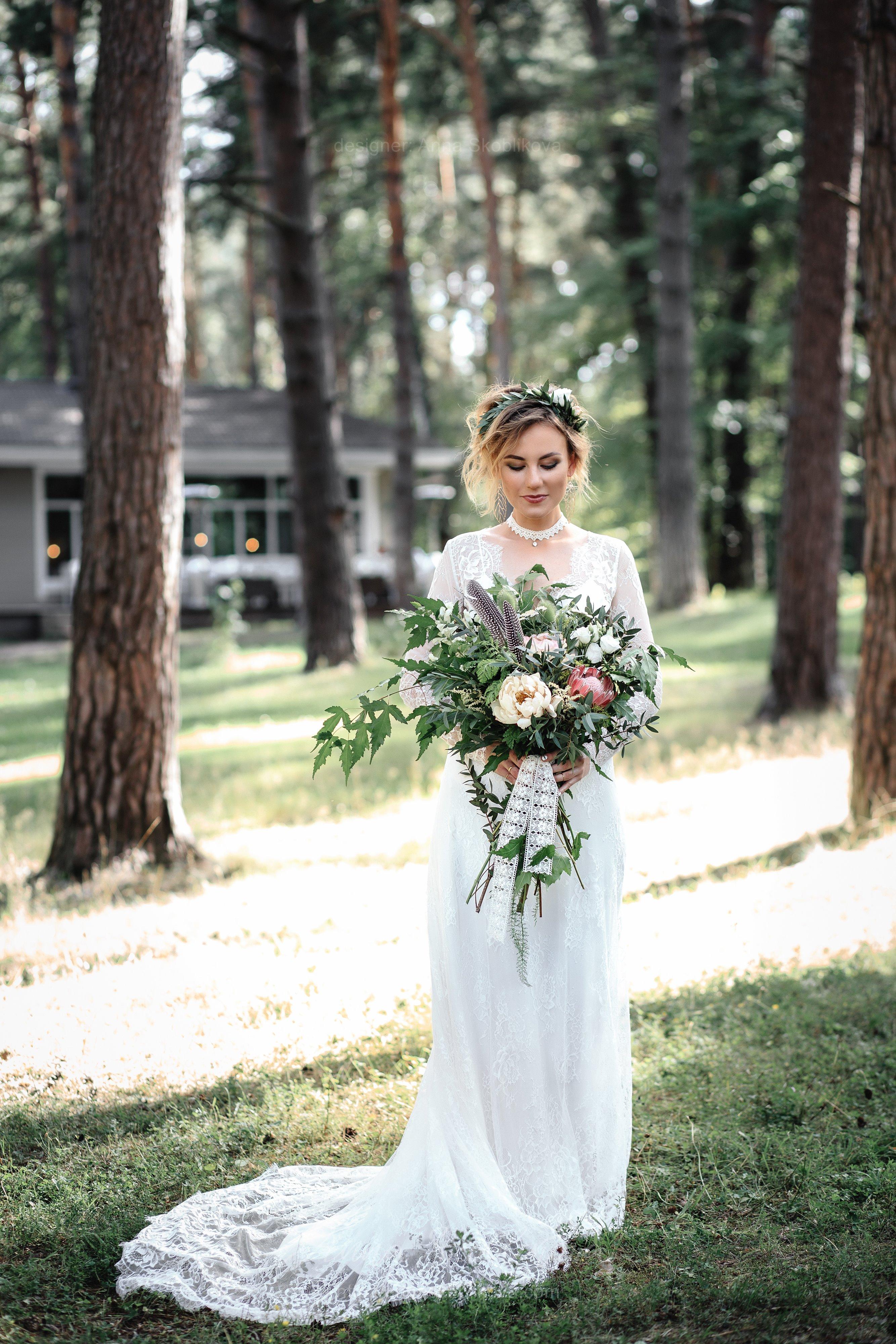 Lace wedding Dress - Anna Skoblikova