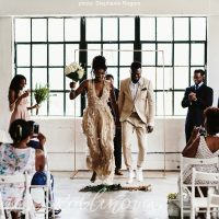 Deun and Eric – Intimate Loft Wedding in Downtown Houston | Stephanie Rogers Photography