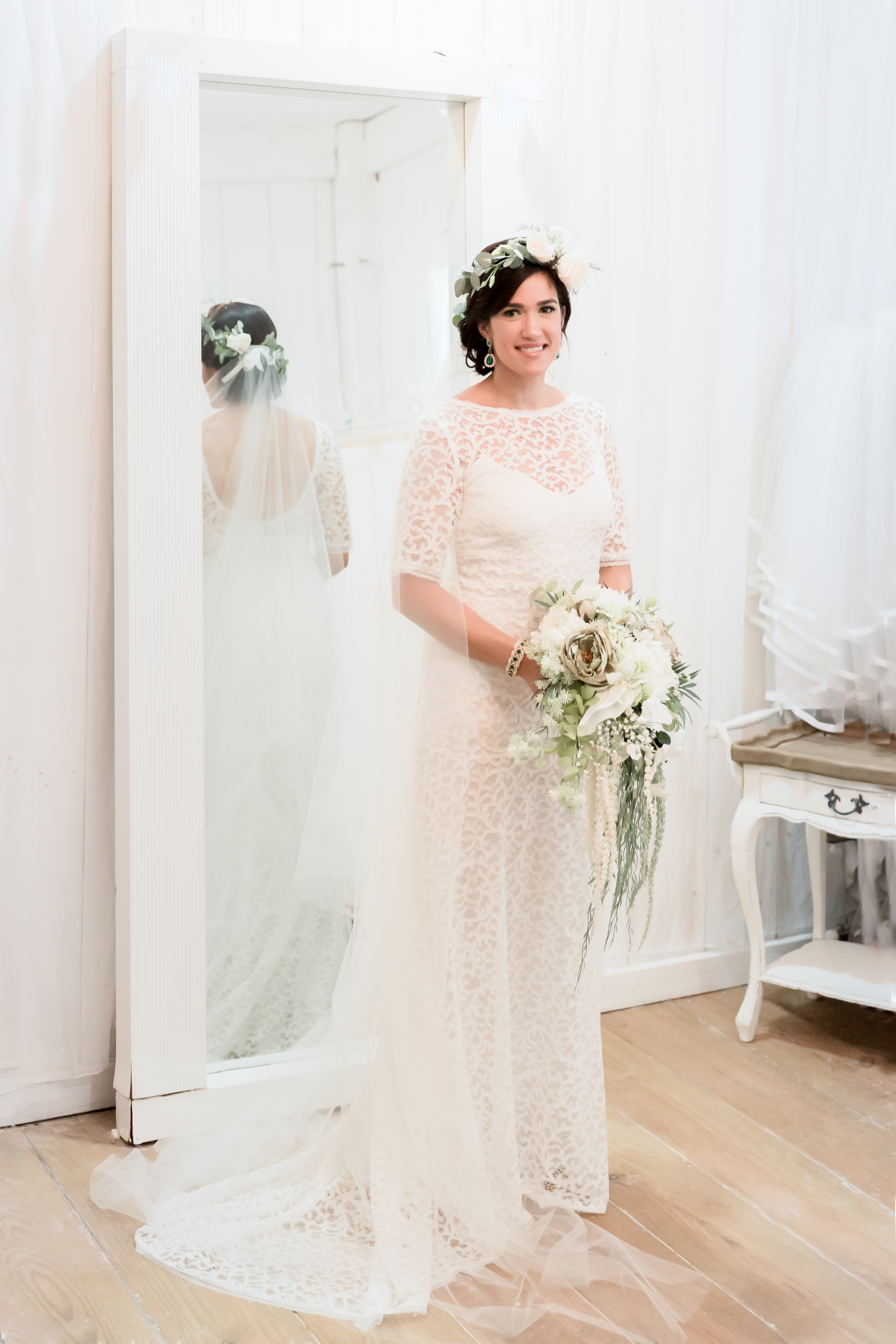 Two Piece Wedding Dress - Anna Skoblikova