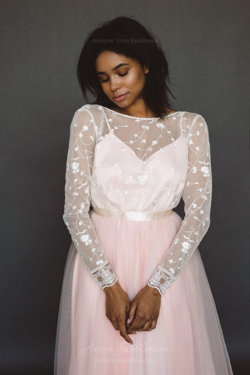 Легкое свадебное платье - Anna Skoblikova