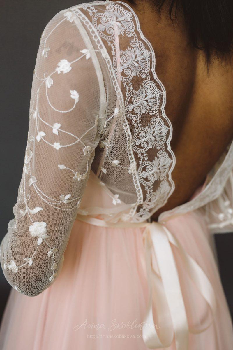 Свадебное платье с длинными рукавами - Anna Skoblikova