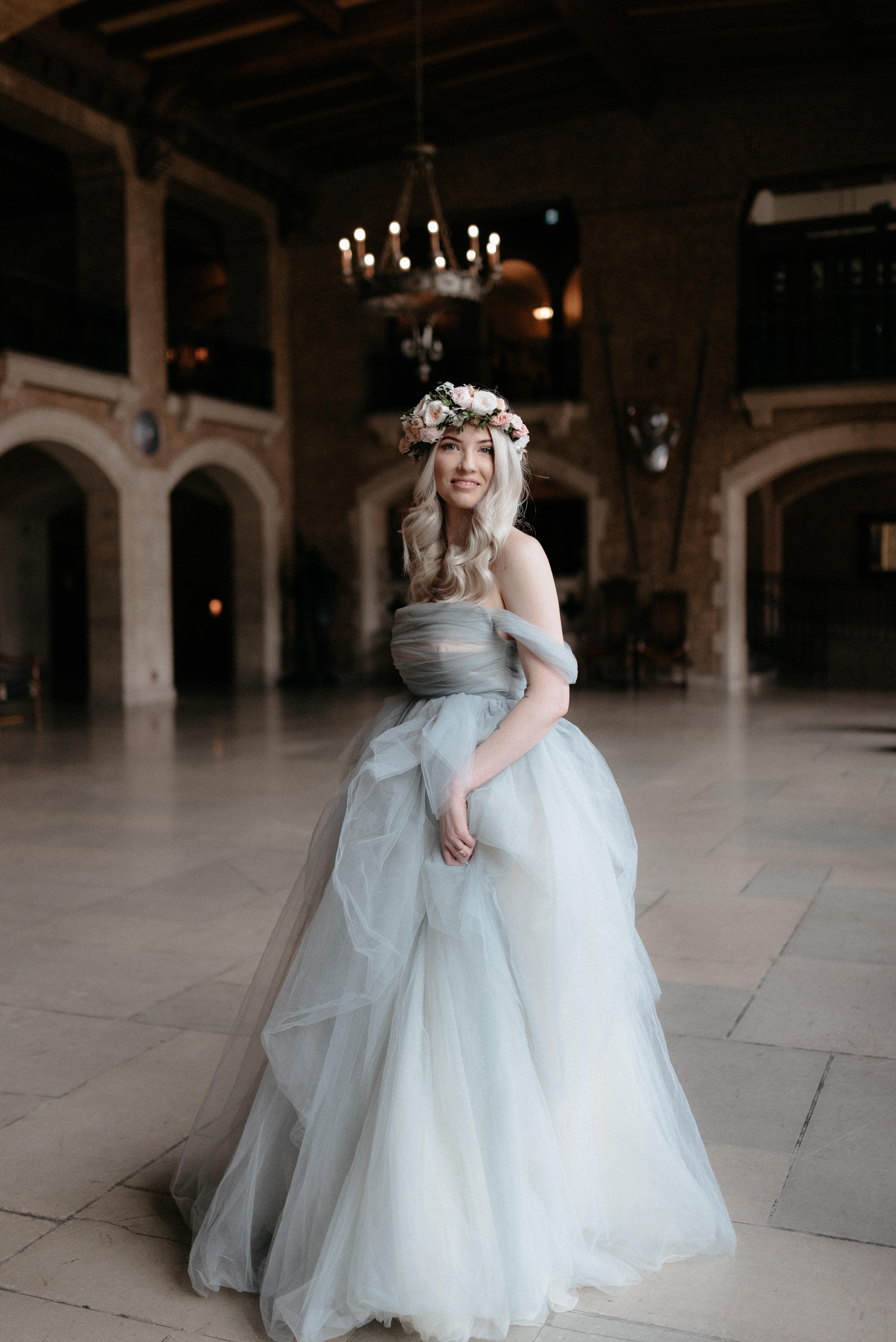 Tulle Wedding Dress - 0208 by Anna Skoblikova