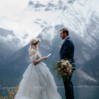 Liz + Kanan – BANFF ELOPEMENT |  Photos by Hennygraphy
