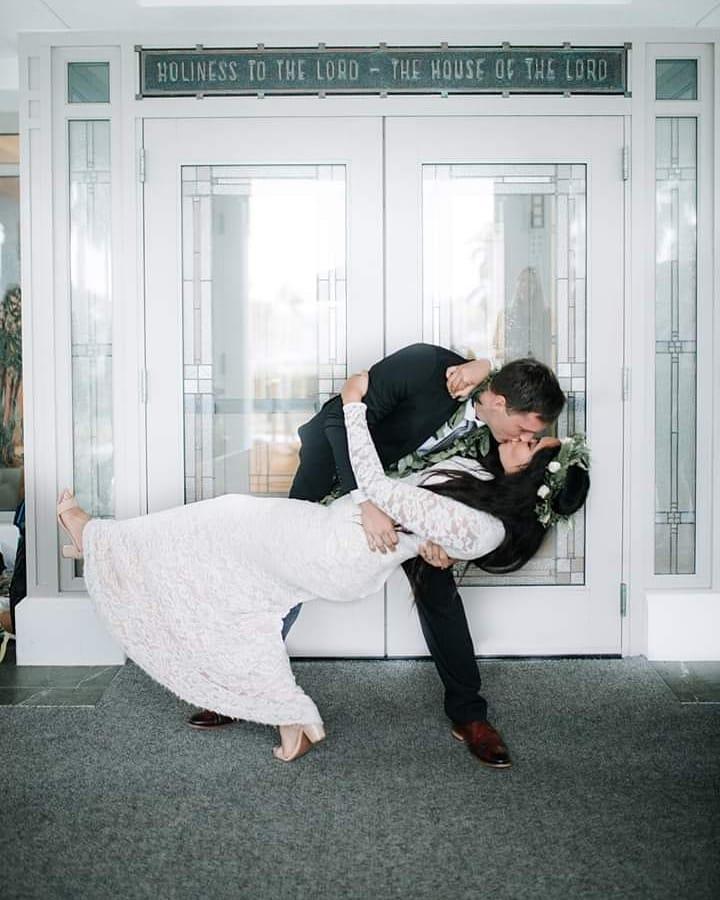 Lace Wedding Dress - 0157 by Anna Skoblikova