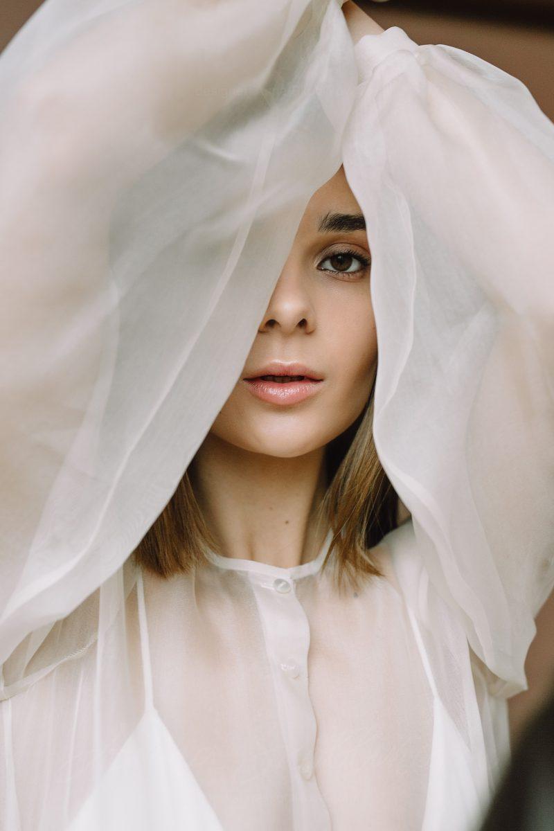 Modest wedding dress - Olimpia