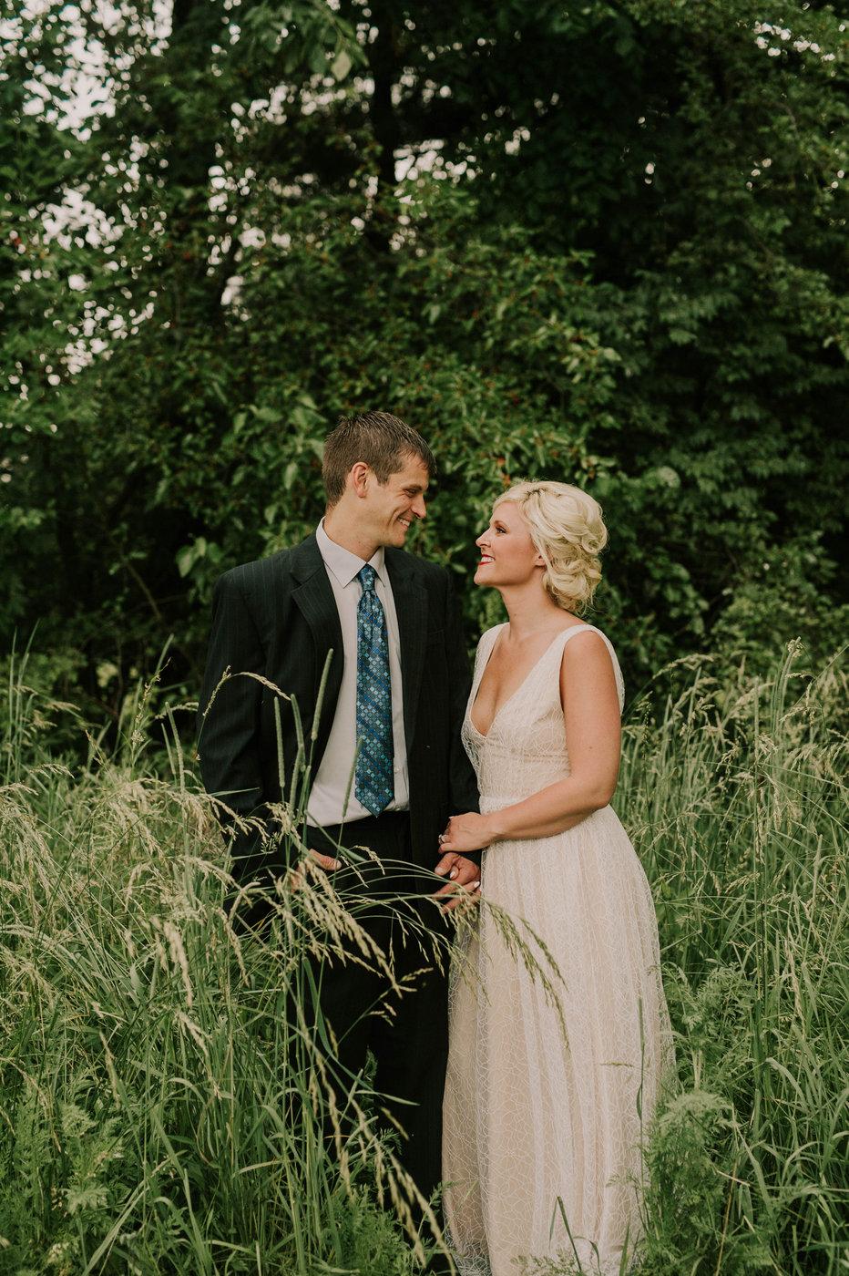 Simple wedding dress  Anna Skoblikova