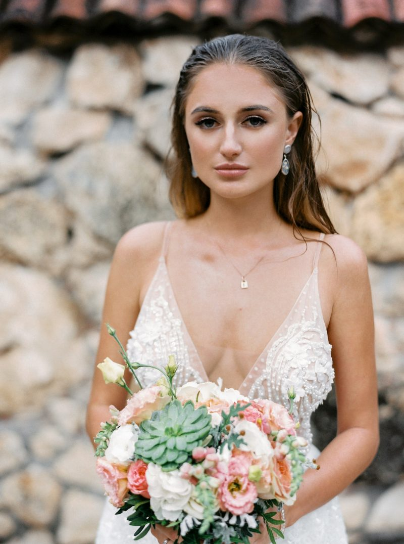 Backless wedding dress \ Anna Skoblikova \ Gentle Angel \ 2021