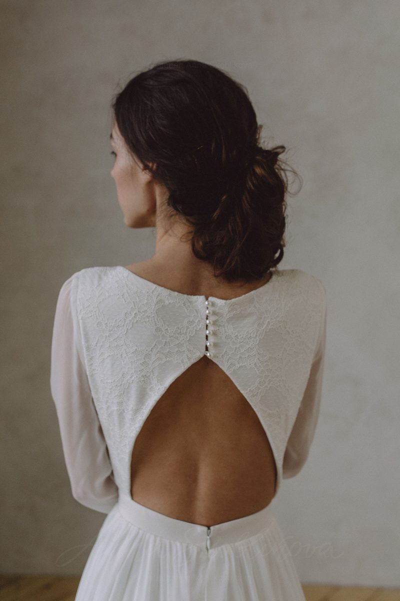 Open back wedding dress - Anel  Anna Skoblikova